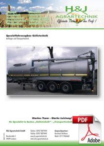 Spezial Fahrzeugbau Guelletechnik
